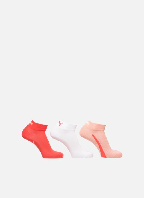 Sokken en panty's Puma Socks LIFESTYLE QUARTER LOT DE 3 Roze detail