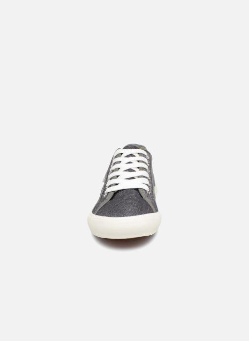 Baskets I Love Shoes Supala Gris vue portées chaussures
