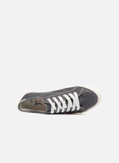 Baskets I Love Shoes Supala Gris vue gauche