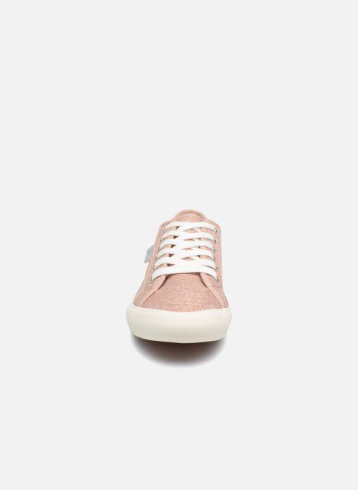 Baskets I Love Shoes Supala Rose vue portées chaussures