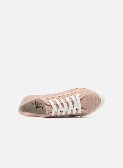 Baskets I Love Shoes Supala Rose vue gauche