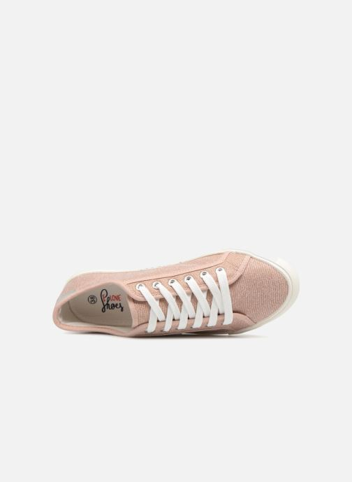 Baskets I Love Shoes Supala Rose vue gauche