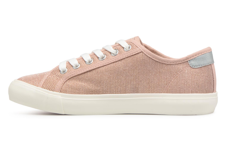Baskets I Love Shoes Supala Rose vue face