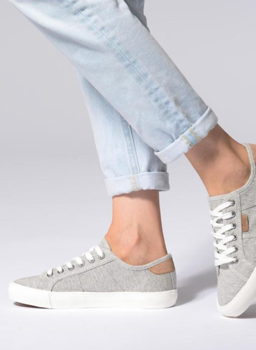 Trainers I Love Shoes Supalina Grey view from underneath / model view