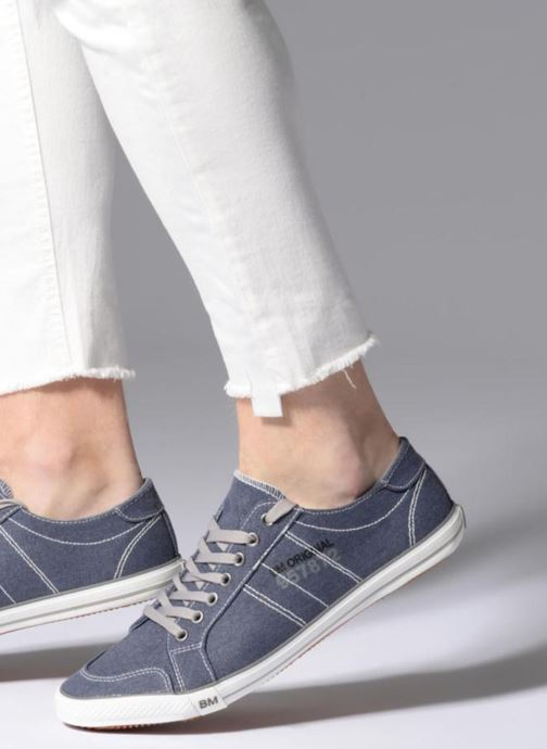 Deportivas I Love Shoes Surilo Azul vista de abajo