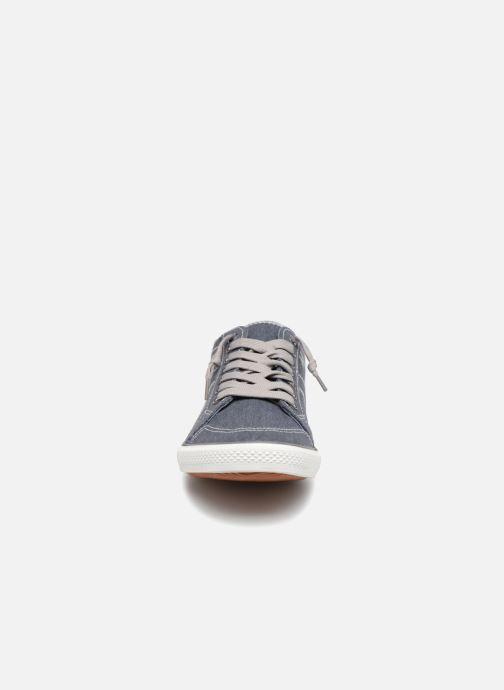 Deportivas I Love Shoes Surilo Azul vista del modelo