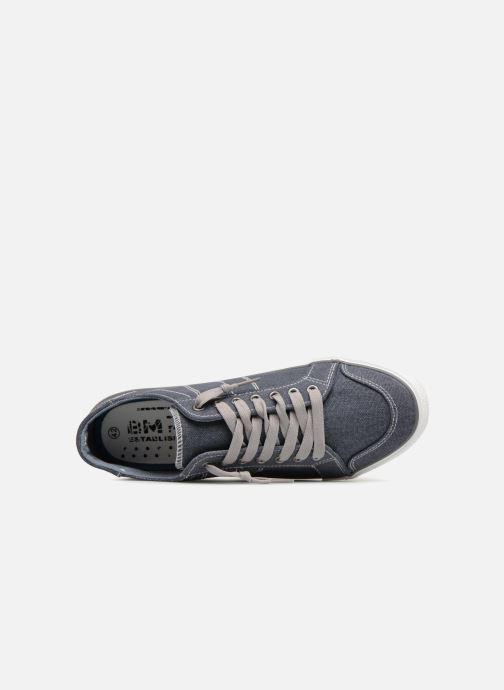 Deportivas I Love Shoes Surilo Azul vista lateral izquierda