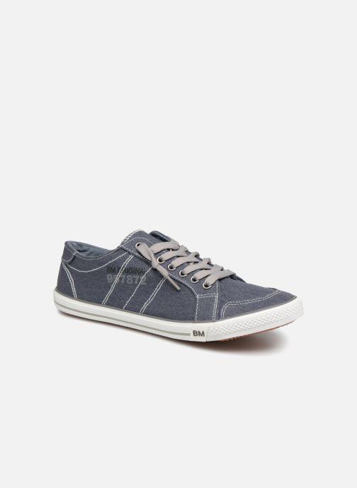 Baskets I Love Shoes Surilo Bleu vue détail/paire