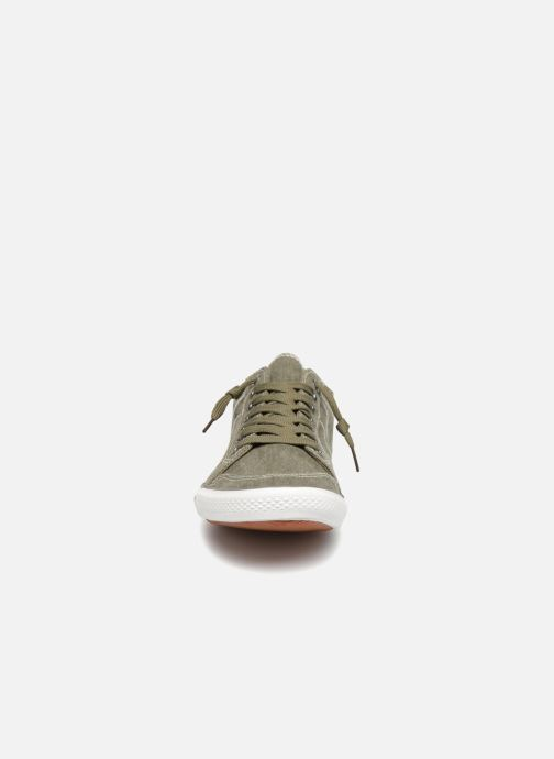 Baskets I Love Shoes Surilo Vert vue portées chaussures