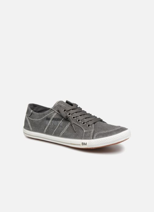 Baskets I Love Shoes Surilo Gris vue détail/paire