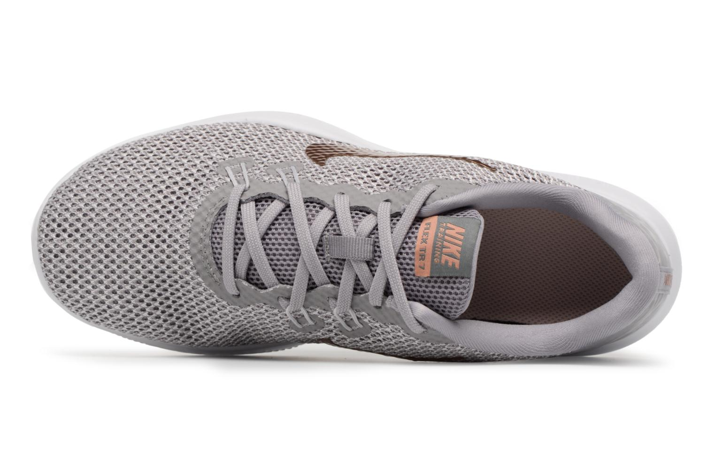 Sportschuhe Nike W Nike Flex Trainer 7 Print weiß ansicht von links