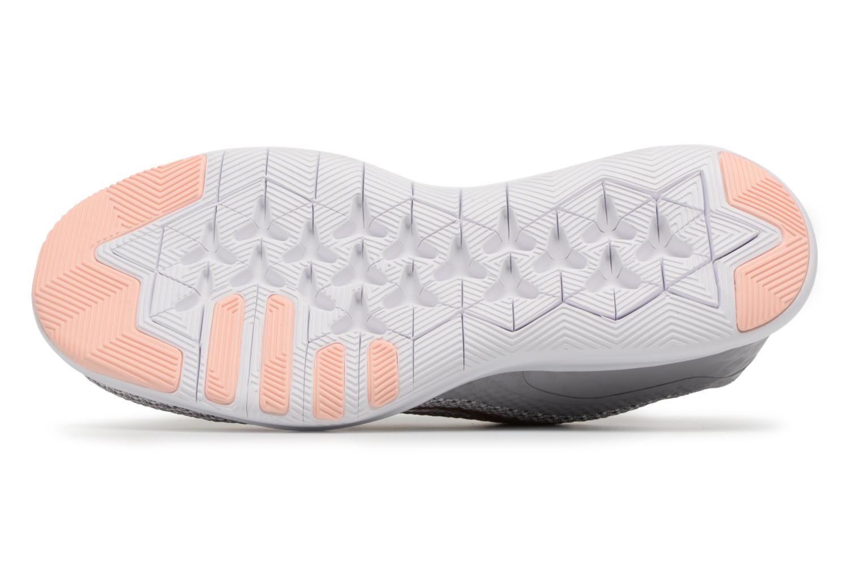 Sportschuhe Nike W Nike Flex Trainer 7 Print weiß ansicht von oben