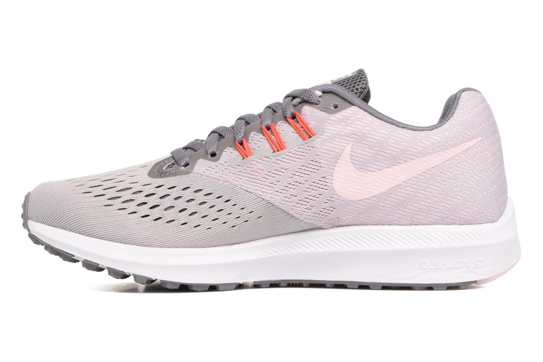 Sportschuhe Nike Wmns Nike Zoom Winflo 4 grau ansicht von vorne