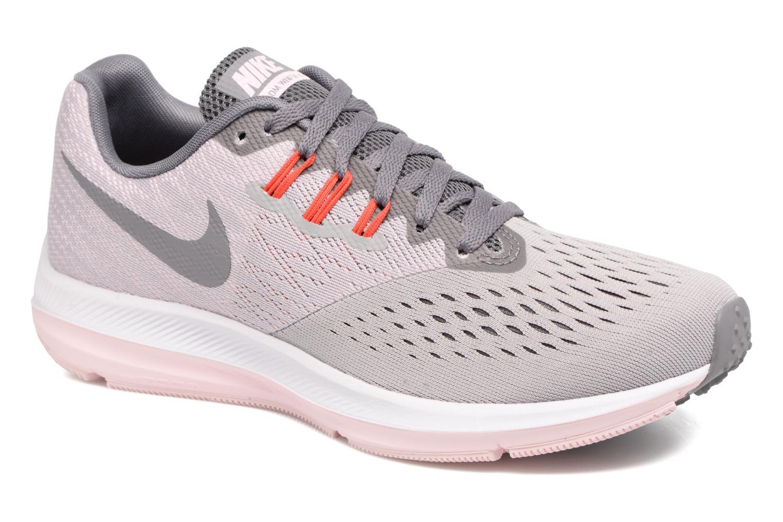 Chaussures de sport Nike Wmns Nike Zoom Winflo 4 Gris vue détail/paire