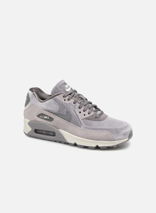 sports shoes b11ba d1ac9 Baskets Nike Wmns Air Max 90 Lx Gris vue détail paire