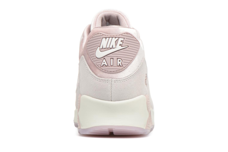 Baskets Nike Wmns Air Max 90 Lx Rose vue droite