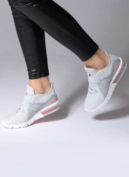 brand new ce0f8 e8e3a Sport shoes Nike Wmns Nike Air Max Sequent 3 Grey view from underneath    model view