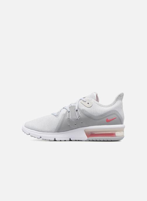 best cheap 515e5 52ada Chaussures de sport Nike Wmns Nike Air Max Sequent 3 Gris vue face
