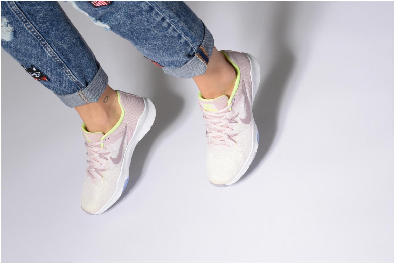 Sportschuhe Nike W Nike Zoom Condition Tr 2 rosa ansicht von unten / tasche getragen