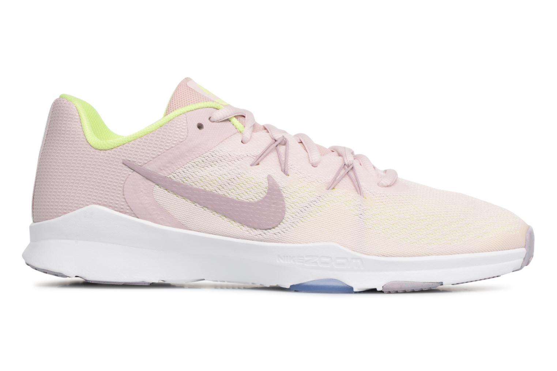 Sportschuhe Nike W Nike Zoom Condition Tr 2 rosa ansicht von hinten