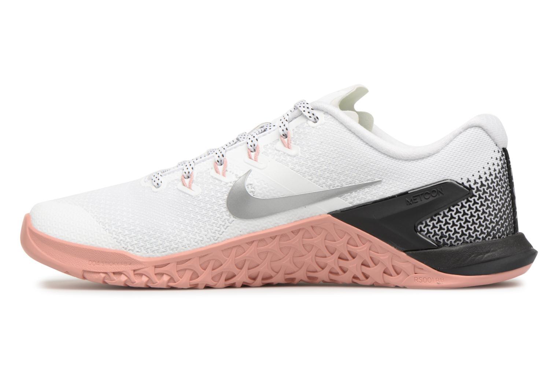 Chaussures de sport Nike Wmns Nike Metcon 4 Blanc vue face