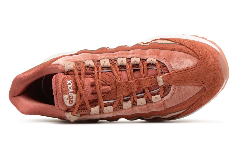 Baskets Nike Wmns Air Max 95 Lx Orange vue gauche