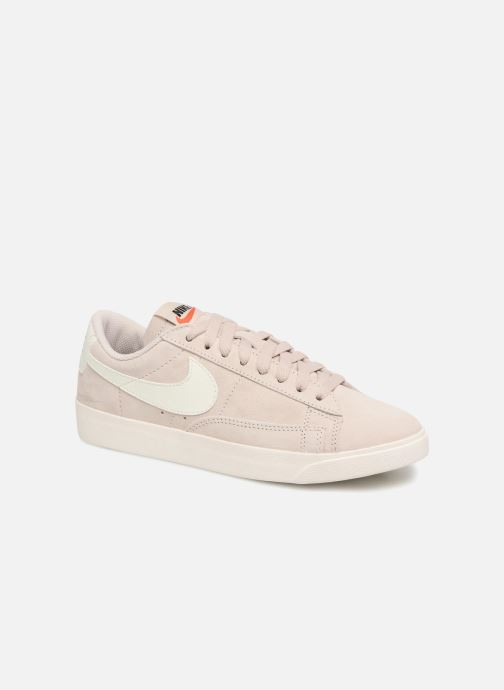 timeless design 186df 4ccfc Nike W Blazer Low Sd (Beige) - Baskets chez Sarenza (318764)