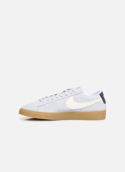 Sneakers Nike W Blazer Low Sd Blauw voorkant