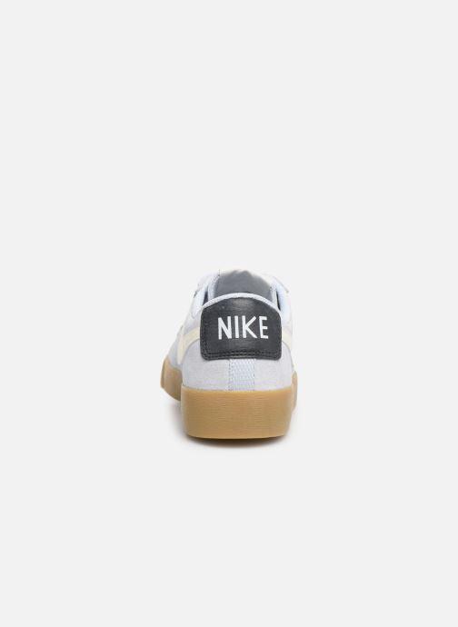 Sneakers Nike W Blazer Low Sd Blauw rechts