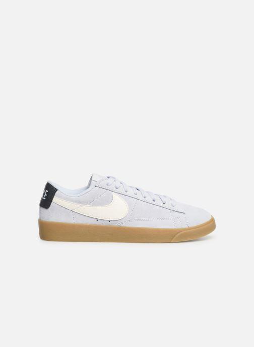 Sneakers Nike W Blazer Low Sd Blauw achterkant