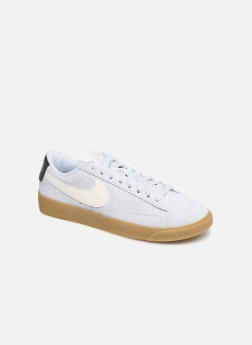 Trainers Nike W Blazer Low Sd Blue detailed view/ Pair view