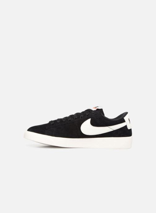 Baskets Nike W Blazer Low Sd Noir vue face