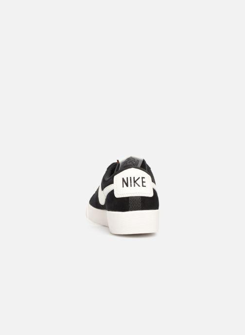 Baskets Nike W Blazer Low Sd Noir vue droite