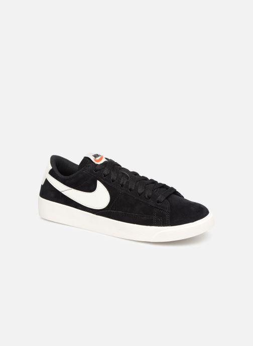 Baskets Nike W Blazer Low Sd Noir vue détail/paire