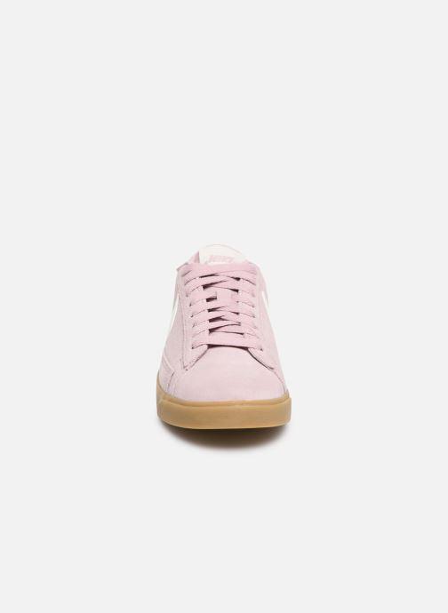 Trainers Nike W Blazer Low Sd Pink model view