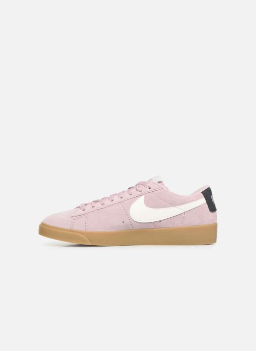 Sneakers Nike W Blazer Low Sd Roze voorkant