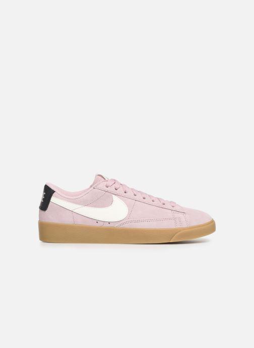 Trainers Nike W Blazer Low Sd Pink back view