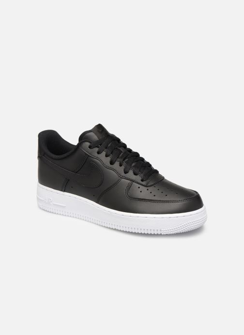 Trainers Nike Air Force 1 '07 Black detailed view/ Pair view