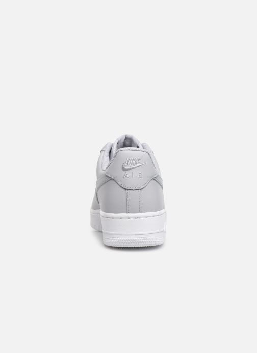 Trainers Nike Air Force 1 '07 Grey view from the right
