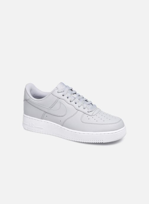 Baskets Nike Air Force 1 '07 Gris vue détail/paire