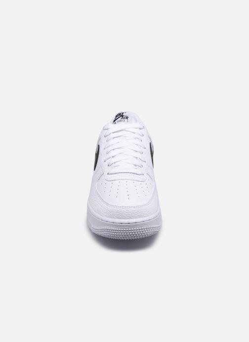 Sneaker Nike Air Force 1 '07 weiß schuhe getragen