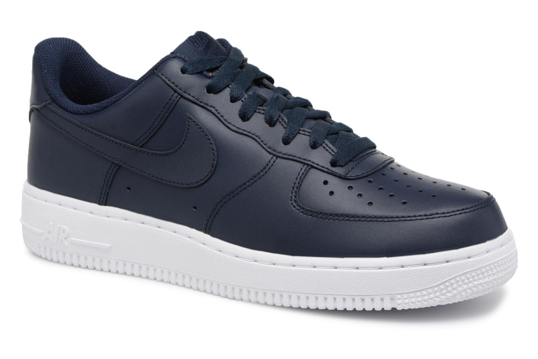 Nike Air Force 1 '07 (Bleu) - Baskets en Más cómodo Dernières chaussures discount pour hommes et femmes