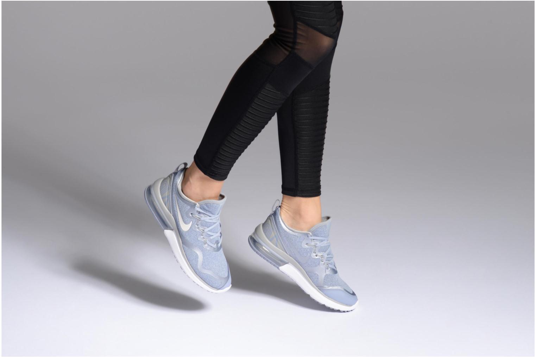Sportschuhe Nike Wmns Nike Air Max Fury blau ansicht von unten / tasche getragen