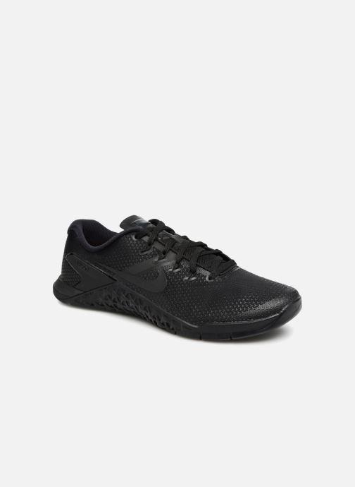 Sportssko Nike Nike Metcon 4 Sort detaljeret billede af skoene
