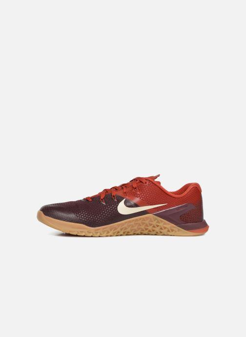 Sportschuhe Nike Nike Metcon 4 weinrot ansicht von vorne