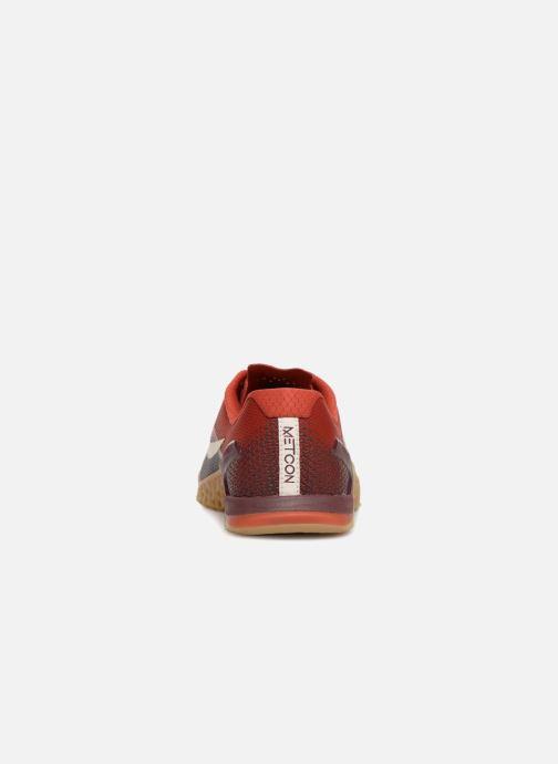 Sportschuhe Nike Nike Metcon 4 weinrot ansicht von rechts