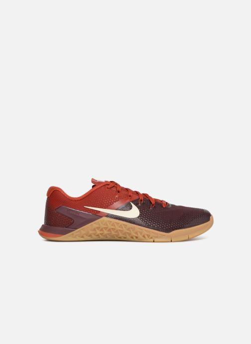 Sportschuhe Nike Nike Metcon 4 weinrot ansicht von hinten