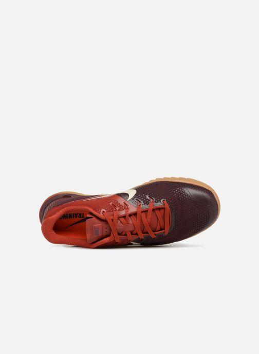 Chaussures de sport Nike Nike Metcon 4 Bordeaux vue gauche