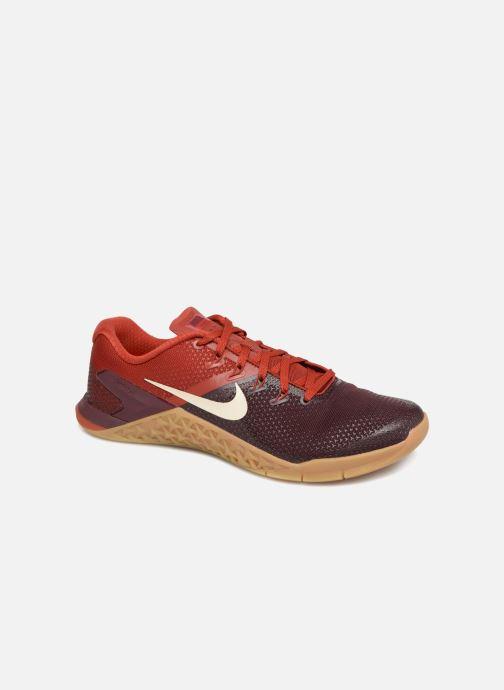 Chaussures de sport Nike Nike Metcon 4 Bordeaux vue détail/paire