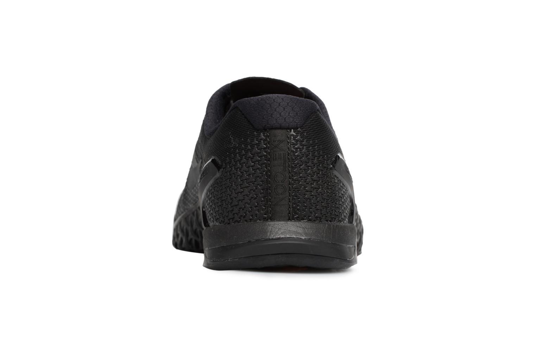 Scarpe sportive Nike Nike Metcon 4 Nero immagine destra
